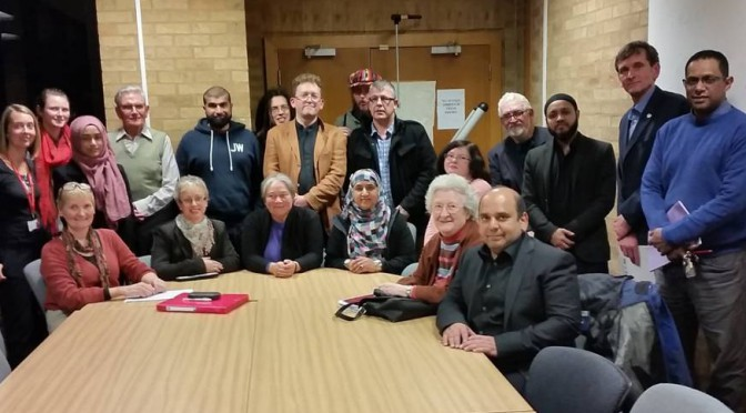 Refugees Welcome – campaign group meeting 21.10.15