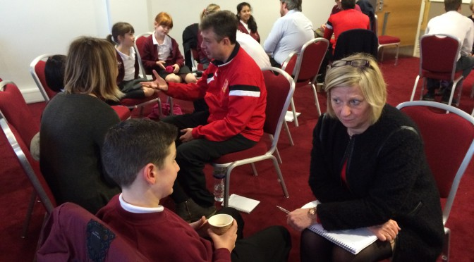 Weaving Trust at MK Dons SET – 16.11.15