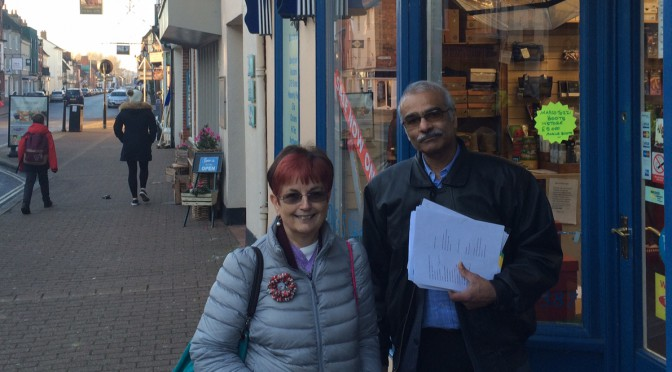 Living Wage Action in Stony Stratford 19.1.16