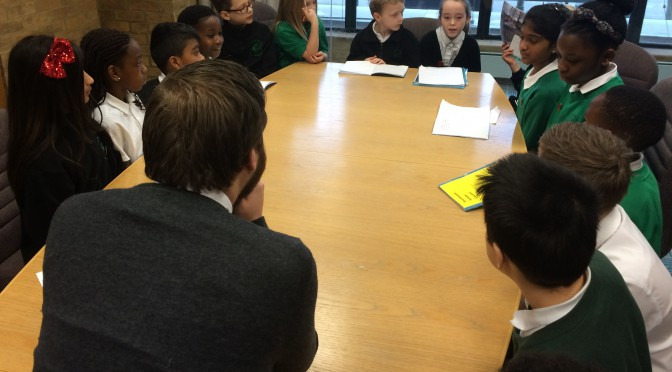Southwood School meets Leader of Council – 10.3.16