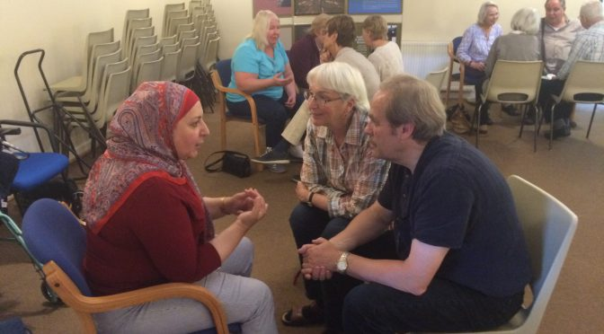 Weaving Trust with MK Quakers – 10.9.16