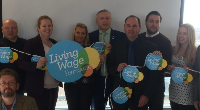 MK Businesses Celebrate Real Living Wage Progress – 3.11.16