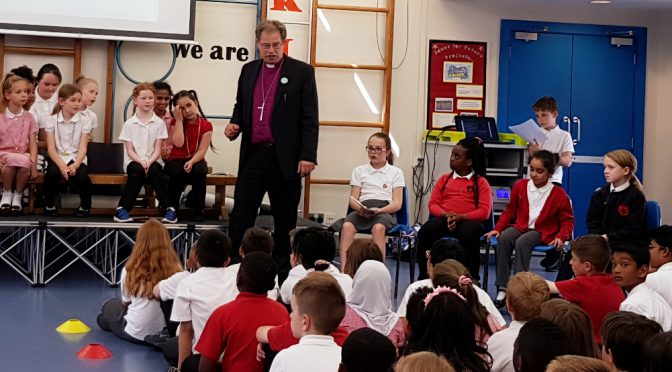 Bishop of Oxford backs school competition to combat hate – 25.5.17