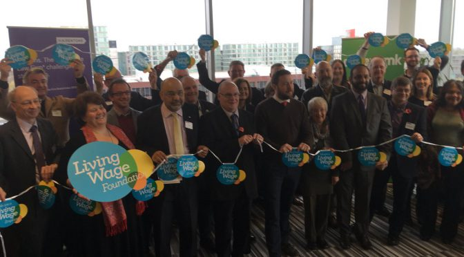 MK business leaders rally for Living Wage – 7.11.17
