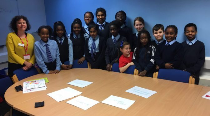 St. Monica's Pupils Create Fundraising Ideas