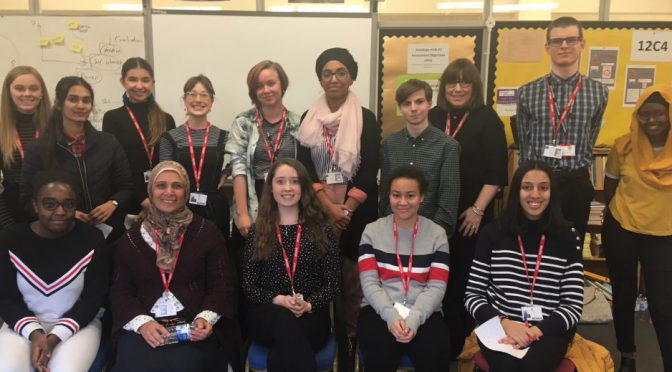 Stantonbury and radcliffe sixth formers start social action course
