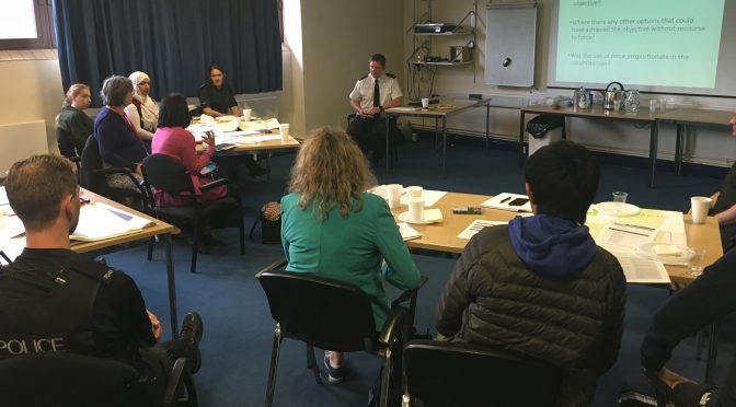 10 leaders attend Police Commander's Workshop