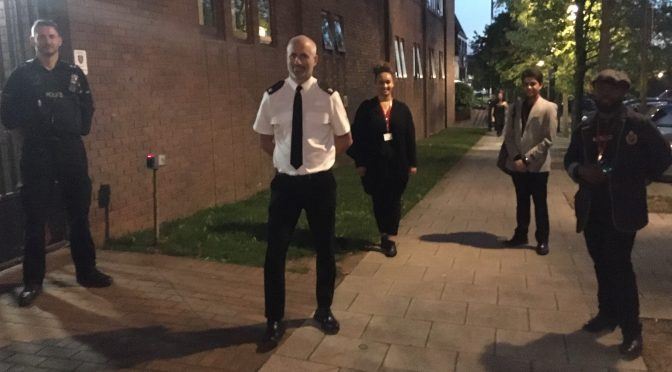Police Area Commander listens to BAME voices
